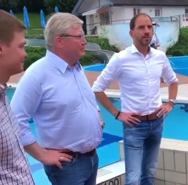 Bernd Althusmann und Maik Beermann besuchten das Auetal