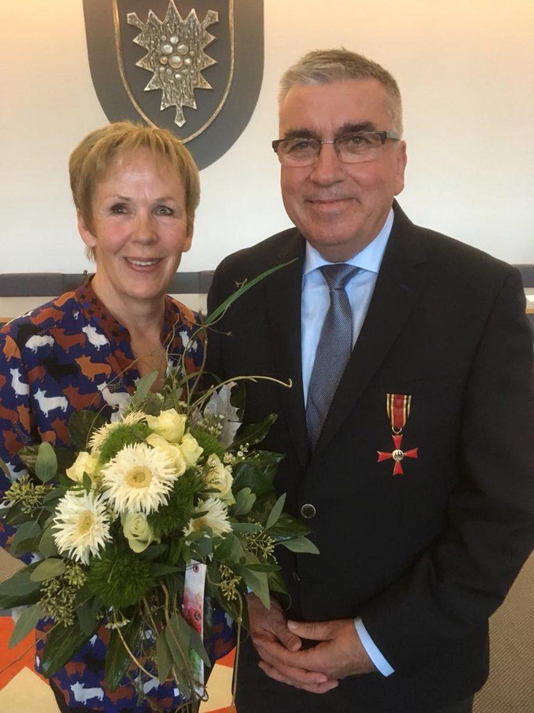 Bundesverdienstkreuz für Gunter Feuerbach